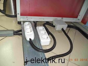 Электромонтаж проводки и розеток