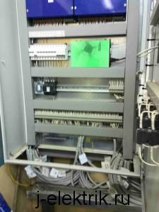 Монтаж шкафа автоматики