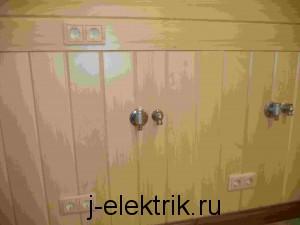Услуги электрика в деревянном доме