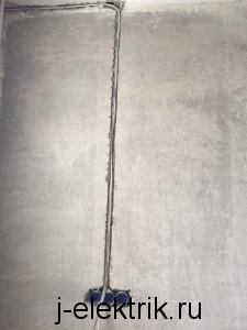 прокладка слаботочных кабелей