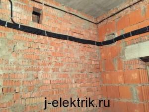 Проводка в кирпичном доме