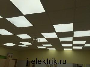 светодиодные светильники замена лпо
