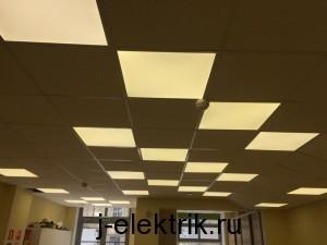 замена люминесцентных светильников светодиодные расчет