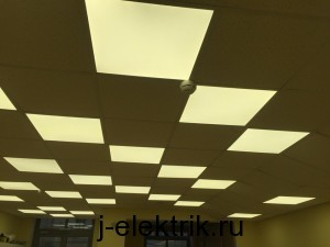 замена светильников армстронг на светодиодные
