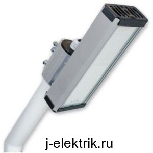 Монтаж прожектора на кронштейне
