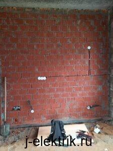 Электромонтаж дома из блоков-стоимость